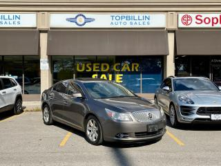 Used 2011 Buick LaCrosse CXL, Leather, Sunroof, for sale in Vaughan, ON
