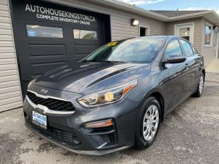 Used 2020 Kia Forte LX for sale in Kingston, ON