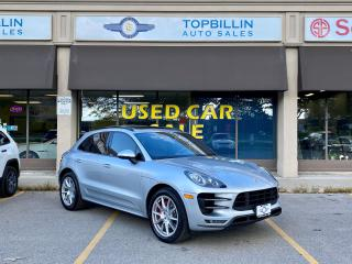 Used 2015 Porsche Macan Turbo AWD, Navi, Pano Roof, Fully Loaded for sale in Vaughan, ON