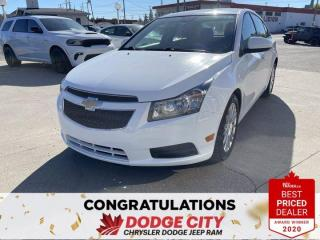 Used 2014 Chevrolet Cruze Eco-Manual,Keyless Entry, Hands-Free for sale in Saskatoon, SK