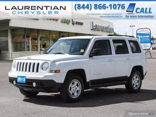 Used 2015 Jeep Patriot North!!  4X4!!  COMPACT SUV!!  POWER WINDOWS!! for sale in Sudbury, ON