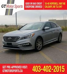 Used 2015 Hyundai Sonata 2.0T | $0 DOWN - EVERYONE APPROVED! for sale in Calgary, AB