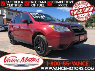 Used 2016 Subaru Forester 2.5i AWD...HTD SEATS*BACKUP CAM*BLUETOOTH! for sale in Bancroft, ON