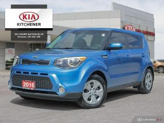 Used 2016 Kia Soul LX AUTO, CLEAN CARFAX!! for sale in Kitchener, ON