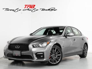 Used 2017 Infiniti Q50 RED SPORT 400 I NAVI I SUNROOF I DRIVE ASSIST for sale in Vaughan, ON