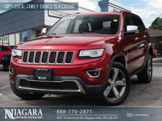 Used 2014 Jeep Grand Cherokee Limited | panoramic roof for sale in Niagara Falls, ON