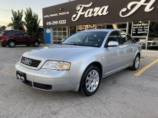 Used 2000 Audi A6 Quattro 2.8 Quattro for sale in Scarborough, ON