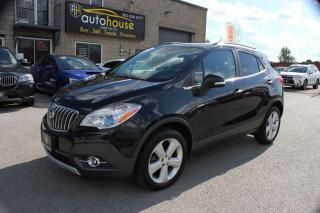 Used 2015 Buick Encore AWD,ONE OWNER,Leather,BACKUP CAMERA,REMOTE STARTER for sale in Newmarket, ON