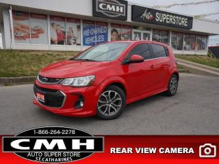 Used 2018 Chevrolet Sonic LT  ROOF HS CAM BT ALLOYS AUTO for sale in St. Catharines, ON