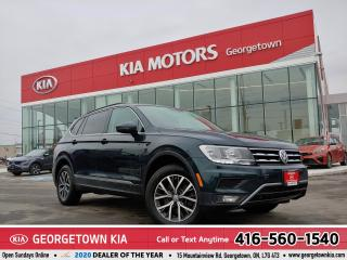 Used 2018 Volkswagen Tiguan SPECIAL EDITION  LEATHER  HEATED SEATS  B/U CAM for sale in Georgetown, ON