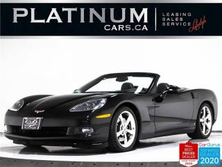 Used 2008 Chevrolet Corvette CONVERTIBLE, 3LT, 430HP, AUTO, NAV, BOSE, HUD for sale in Toronto, ON