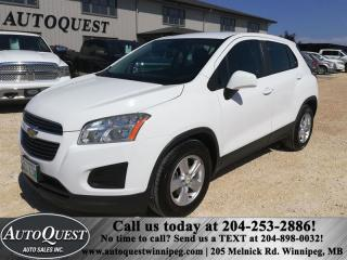 Used 2015 Chevrolet Trax FWD 4dr LS 1.4L 4cyl for sale in Winnipeg, MB