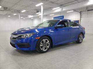 Used 2016 Honda Civic LX - CAMERA + BLUETOOTH + SIEGES CHAUFFANTS !!! for sale in St-Eustache, QC