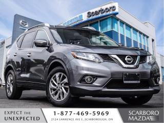 Used 2015 Nissan Rogue AWD|NAVIGATION|LEATHER|360C CAMERA for sale in Scarborough, ON
