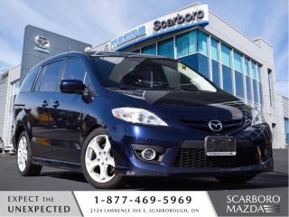 Used 2010 Mazda MAZDA5 GT\6 PASSENGERS\AUTO\LEATHER for sale in Scarborough, ON