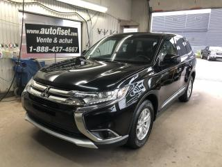 Used 2017 Mitsubishi Outlander AWC 4dr ES $62.67 PAR SEMAINE+TAXES for sale in St-Raymond, QC