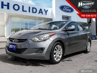 Used 2011 Hyundai Elantra GL for sale in Peterborough, ON