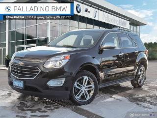 Used 2017 Chevrolet Equinox Premier - AWD, V6 Engine, Navigation, Lane Departure Warning, Cross-Traffic Alert for sale in Sudbury, ON