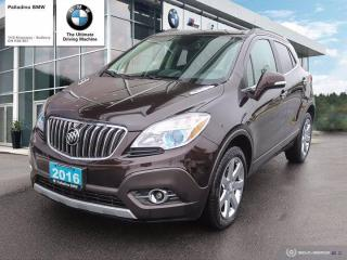 Used 2016 Buick Encore Leather - FULLY LOADED & GREAT CONDITION for sale in Sudbury, ON