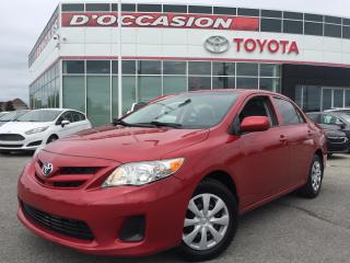 Used 2012 Toyota Corolla **AUTO/AIR CLIMATISÉ** for sale in St-Eustache, QC