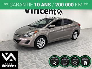 Used 2012 Hyundai Elantra GL ** GARANTIE 10 ANS ** Faites vite, voiture en grande demande! for sale in Shawinigan, QC