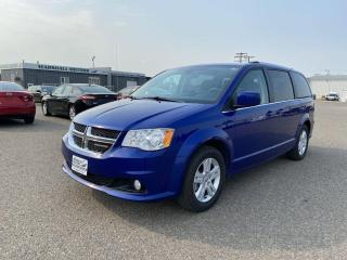 Used 2020 Dodge Grand Caravan Crew Plus FWD *Navigation W/ Hard Drive**Bluetooth for sale in Brandon, MB