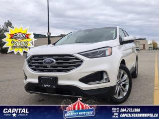 Used 2019 Ford Edge Titanium AWD *Ask About 2.9%! for sale in Winnipeg, MB