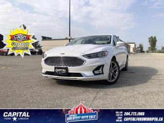 Used 2019 Ford Fusion Hybrid Titanium 4WD *Ask about 2.9%! for sale in Winnipeg, MB