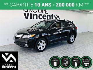 Used 2014 Acura RDX TECH AWD GPS CUIR ** GARANTIE 10 ANS ** Luxueux et performant! for sale in Shawinigan, QC