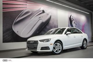 Used 2017 Audi A4 KOMFORT - 2.0 TFSI - QUATTRO AWD for sale in Sherbrooke, QC