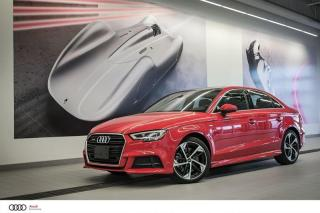 Used 2019 Audi A3 TECHNIK - 2.0l TURBO TFSI - AWD QUATTRO for sale in Sherbrooke, QC