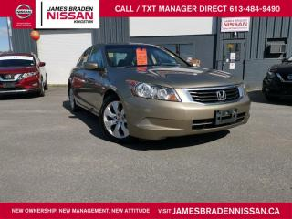 Used 2009 Honda Accord EX-L for sale in Kingston, ON