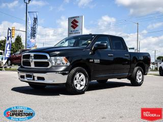 Used 2016 RAM 1500 ST Crew Cab 4x4 ~5.7L HEMI ~Trailer Tow Package for sale in Barrie, ON