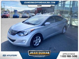 Used 2012 Hyundai Elantra MODÈLE GLS TOIT OUVRANT SIEGES CHAUFFANT for sale in Alma, QC