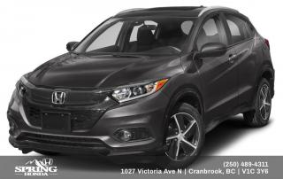 New 2020 Honda HR-V Sport for sale in Cranbrook, BC