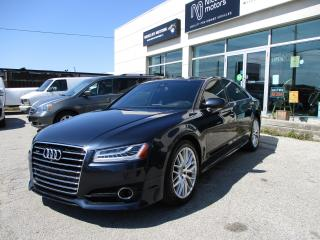 Used 2016 Audi A8 4.0T for sale in Oakville, ON