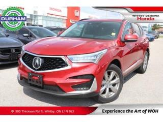 Used 2019 Acura RDX SH-AWD for sale in Whitby, ON