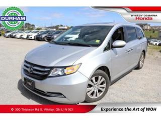 Used 2015 Honda Odyssey w/Rear Entertainment System for sale in Whitby, ON