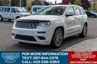 Used 2018 Jeep Grand Cherokee Summit SUMMIT/PREUMIUM PLUS APP PKG/3.6L for sale in Okotoks, AB