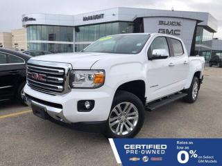Used 2017 GMC Canyon SLT 4x4 Crew Cab | Touchscreen Radio | Heated Seats for sale in Winnipeg, MB