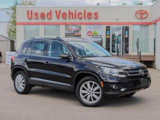 Used 2013 Volkswagen Tiguan 4 MOTION LEATHER SUNROOF NAVI ALLOYS CAMERA for sale in North York, ON