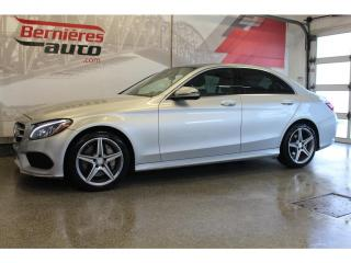 Used 2016 Mercedes-Benz C 300 4MATIC + TOIT PANORAMIQUE for sale in Lévis, QC