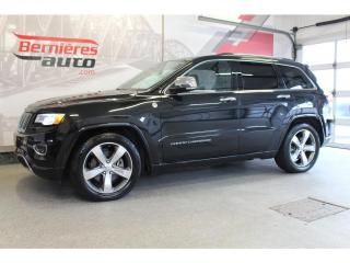 Used 2016 Jeep Grand Cherokee Overland for sale in Lévis, QC