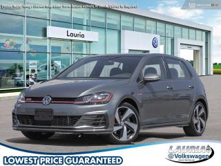 New 2020 Volkswagen Golf GTI 2.0 TSI Autobahn Auto for sale in PORT HOPE, ON