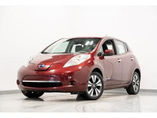 Used 2016 Nissan Leaf SV NAV SIÈGES CHAUFFANTS CAM DE RECUL for sale in Brossard, QC