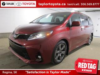 New 2020 Toyota Sienna SE 8-Passenger for sale in Regina, SK