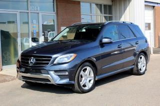 Used 2014 Mercedes-Benz ML-Class ML350 AWD - SPORT+LANE TRACKING+PARKING PKGS for sale in Saskatoon, SK
