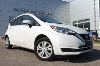 Used 2018 Nissan Versa Note 1.6 S ONE OWNER ACCIDENT FREE TRADE WITH ONLY 31780 KMS. NISSAN CERTIFIED PREOWNED! for sale in Toronto, ON