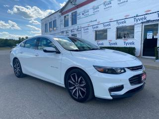 Used 2018 Chevrolet Malibu LT with Navigation! for sale in Tillsonburg, ON
