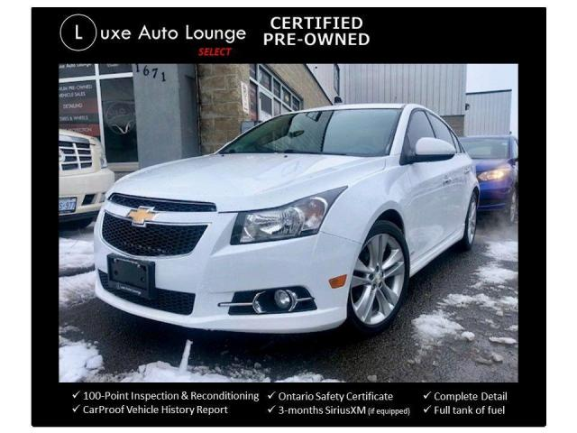 2014 Chevrolet Cruze 2LT, LEATHER, HEATED SEATS, BACK-UP CAMERA, NAV!!
